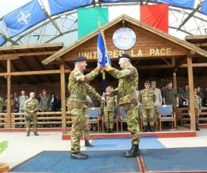 Cambio comando kosovo