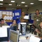 Ufficiali nel Posto Comando Brigata