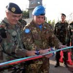 Inaugurazione check point LAF in Naqoura