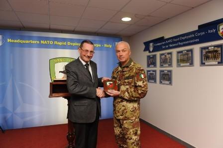 Nrdc ita visita conoscitiva alla caserma mara per l on for Commissione difesa camera