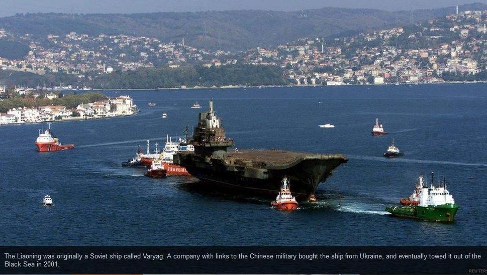 Entra in servizio la portaerei cinese liaoning rinata - Nuova portaerei ...