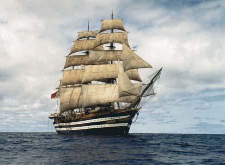Marina e INVG: a bordo del veliero Vespucci a La Spezia la Storia dell'Oceanografia per 30 studenti universitari