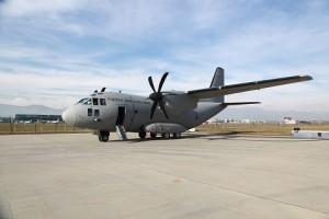 Alenia Aermacchi C-27J for the FAP-HR