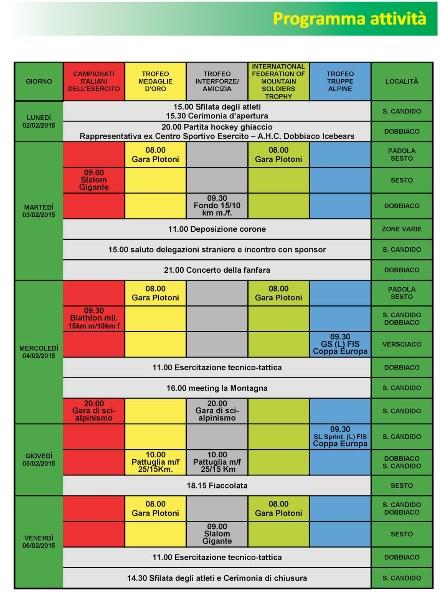CaSTA 2015_calendario attività