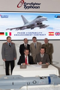 Eurofighter P3E contract signing IDEX