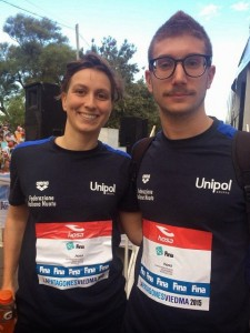 Rachele Bruni e Simone Ruffini