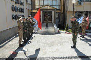 20150331_COMKFOR gen Francesco Paolo Figliuolo_CaSMD Albania gen Jeronim Bazo_KFOR_Pristina_high level talks (3)