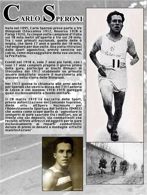 Maratona di Roma - Carlo Speroni