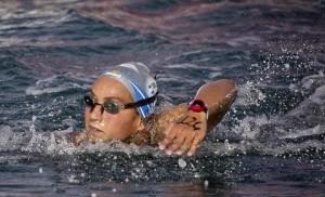 Rachele Bruni in azione