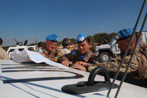 UNIFIL_SW_Libano_gen Stefano Del Col con pattuglia