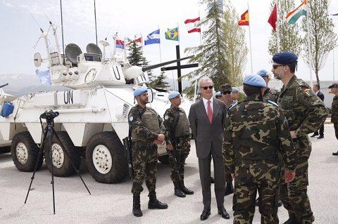 rey_viaje_libano_20150408_il re Filippo VI in visita a UNIFIL_Ph Casa Real