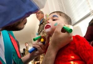 1. UNIFIL- ClownTherapy presso la scuola di  JAMIR JABEL 08