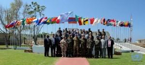 20150507_Naqoura_Foto di gruppo con i Capi Missione, alti funzionari, rappresentanti delle LAF e key element dello staff s