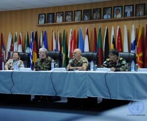 20150507_UNIFIL_Naqoura_I capi missione di UNIFIL, UNIFICYP, UNDOF e UNTSO - s
