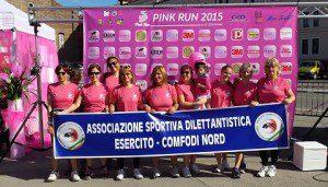 """Foto 1 - La """"PINK RUN"""" a Padova"""
