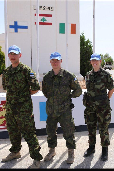 20150527_Le tre uniformi presenti alla posizione 2-45