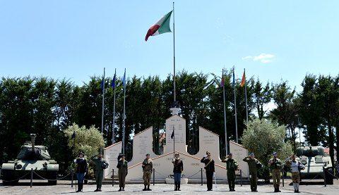 Foto 1 - Cerimonia alla Divisione Firuli