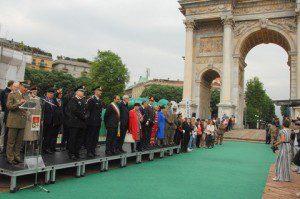 Esercito marciava Arco della Pace
