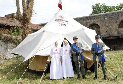 Ospedale da campo della Corpo delle Infermiere Volontarie della Croce Rossa Italiana
