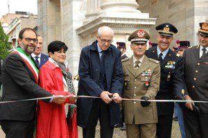 Taglio nastro Milano Arco della Pace