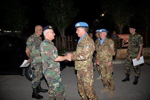 20150622_SW UNIFIL_LAF gen Charbel Abou Khalil South Litani visita SW_gen Salvatore Cuoci Esercito Italiano (5)