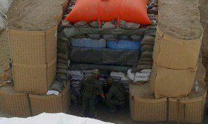 Esercito_opere di protezione prima del disinnesco