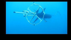NATO CMRE_waveglider with towfish