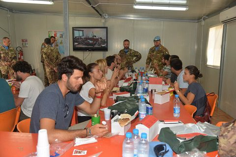 20150805_studenti LUISS_Sector West UNIFIL Libano_Esercito Italiano (4)