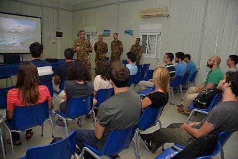 20150805_studenti LUISS_Sector West UNIFIL Libano_Esercito Italiano (8)
