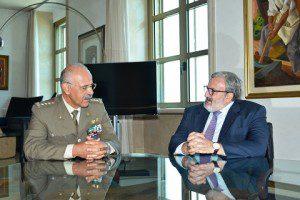 20150826_gen De Leverano_incontro con il Governatore della Puglia