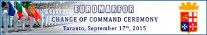 20150917_change of command EUROMARFOR