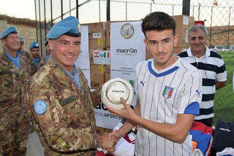20150918_SW UNIFIL_gen Salvatore Cuoci_progetto CIMIC Tbinin