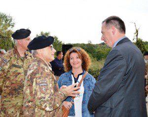 20151006_COMKFOR gen Miglietta_sindaco Rasim Selmanaj
