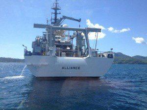 nave Alliance_CMRE NATO