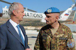20151124_UNIFIL_SE_ COM gen Portolano_Min Dif Spagna Pedro Morenés Eulate