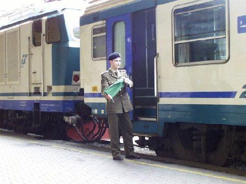 Esercito Italiano_Genio ferrovieri_capotreno