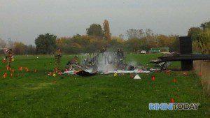 incidente elicottero 7 vega rimini precipitato soccorsi 10 novembre foto - 18-2