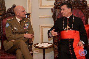 20151217_UNIFIL_Beirut_Com Gen Portolano a colloquio con il Patriarca maronita (2)