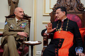 20151217_UNIFIL_Beirut_Com Gen Portolano a colloquio con il Patriarca maronita