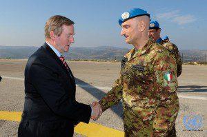 20151221_UNIFIL_ll Generale Portolano riceve il Ministro Irlandese