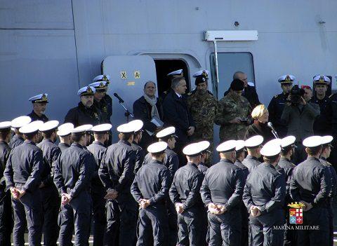 visita ministro difesa su dulio