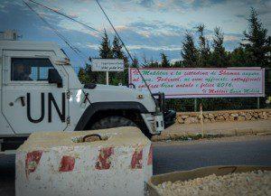 8 - Lo striscione augurale della città di Shama