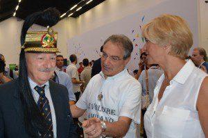 Col Sandoli - Gen.B. De Milato - On. Pinotti