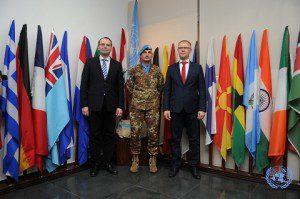 20160114_UNIFIL_da sin il Ministro della Difesa Finlandese, il Generale Portolano e il Ministro della Difesa Estone