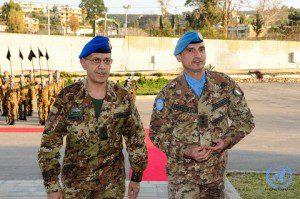 Il Capo di Stato Maggiore dell'Esercito con l'Head of Mission a Force Co...