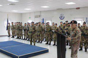 20160309_TOA GSA MNBG-W_Col SARCIA' ringrazia il Reggimento RSOM per l'impegno profuso