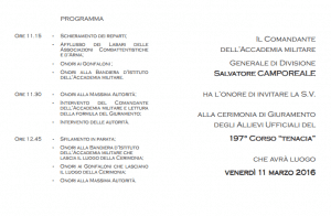 20160311_Accademia Militare Modena_giuramento_invito (2)
