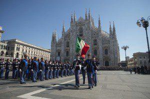 Giuramento Allievi Scuola Militare Teuliè - Un momento della cerimonia