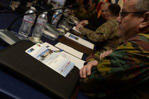 Il tavolo dei conferenzieri