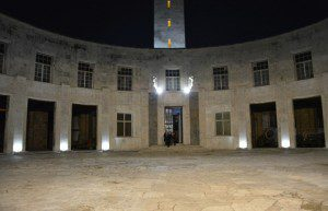 Notturna cortile interno dell'Istituto Storico e di Cultura dell'Arma del Genio_1